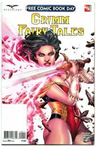GRIMM FAIRY TALES, NM, FCBD, 2017, Zenescope, more Promo / items in store