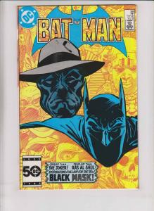 Batman #386  doug moench 1ST BLACK MASK direct market - dc comics