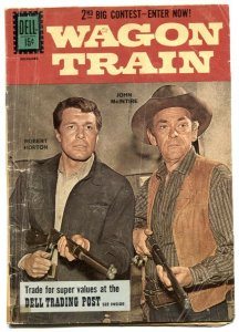 Wagon Train #11 1961- Dell TV Western- Robert Horton G