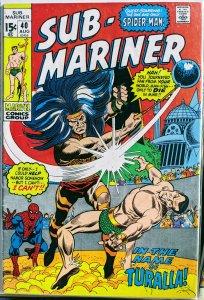 Sub-Mariner #40 (1971) VF