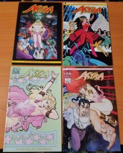 Astra 1-4 Complete Set Run! ~ NEAR MINT NM ~ 1999 CPM Manga Comics