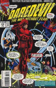 Daredevil #318 VF/NM; Marvel | save on shipping - details inside