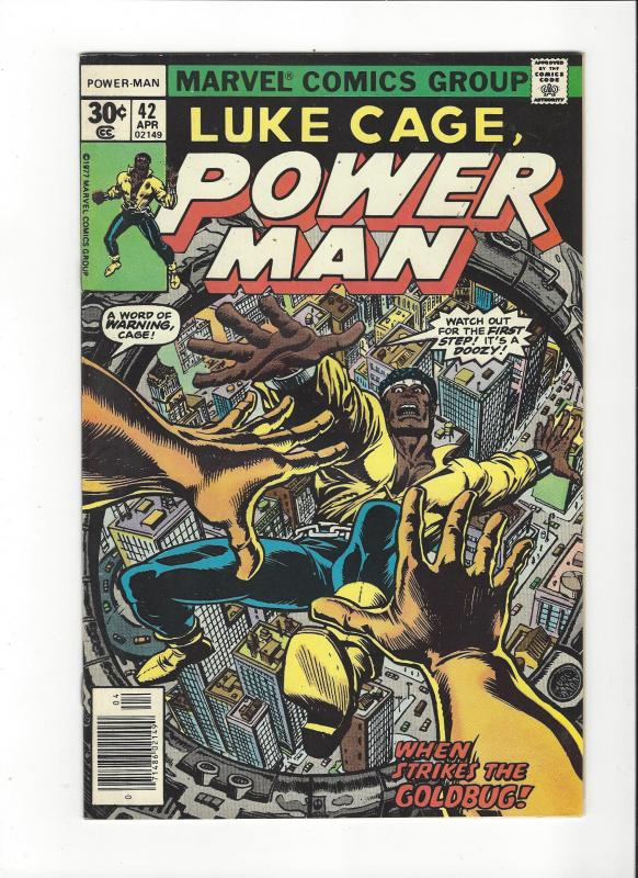 LUKE CAGE POWERMAN 1ST SERIES #42 VF+