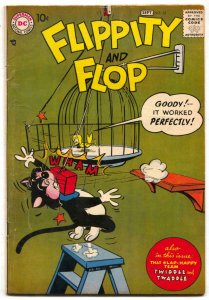 Flippity and Flop #35 1957- DC Funny Animals VG+
