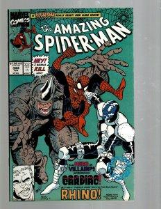 Amazing Spider-Man # 344 NM Marvel Comic Book Venom Green Goblin Gwen MJ TW67