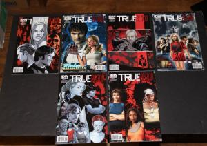 IDW TRUE BLOOD #4,#5,#6 COVERS A&B Legacy Edition VF (SIC146)