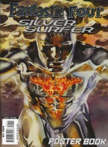 Fantastic Four/Silver Surfer Poster Book #1 VF; Marvel   save on shipping - deta