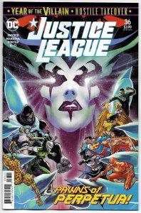 Justice League #36 Main Cvr (DC, 2020) NM