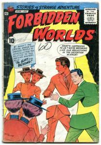 Forbidden Worlds #88 1960- Ogden Whitney- ACG Silver Age G