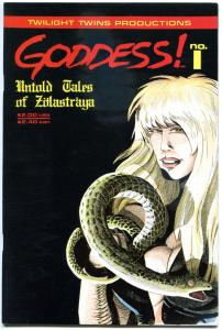 GODDESS Untold Tales of ZOLASTRAYA #1, VF/NM, 1989, more indies in store
