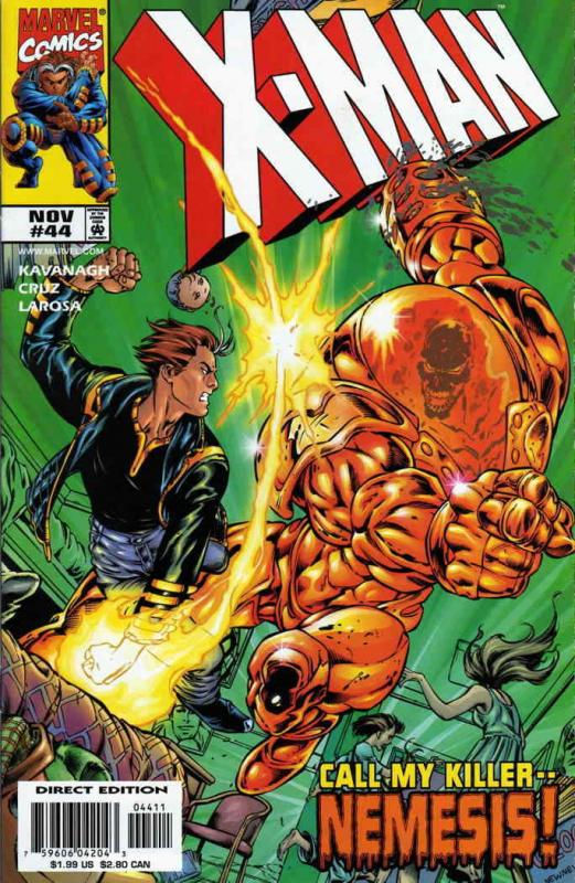 X-Man #44 FN; Marvel | save on shipping - details inside