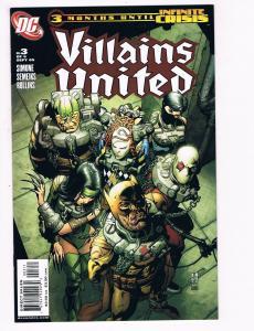 Villains United # 3 NM DC Comic Books Secret Six Batman Superman S93
