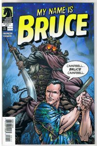 MY NAME is BRUCE #1, NM, 2008, Campbell, Evil Dead fame, more AOD in store