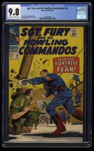 Sgt. Fury and His Howling Commandos #39 CGC NM/M 9.8 Highest Graded!