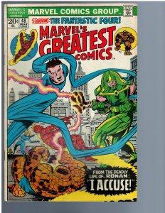Marvel's Greatest Comics #48 (1974)