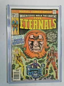 The Eternals #5 1st Appearance of Domo + Thena 4.0 VG (1976)