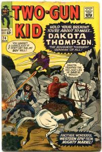 TWO-GUN KID #74 1965-MARVEL WEST-JACK KIRBY-DICK AYERS VG