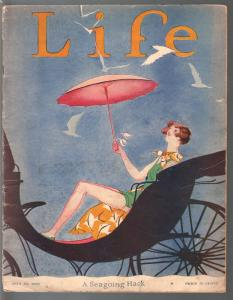 Life 7/27/1926-platinum age cartoonists-Charlie Price-L Fellows-Herb Roth-VG