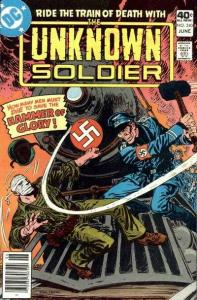 Unknown Soldier (1977 series) #240, VF- (Stock photo)