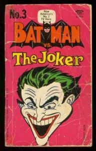 BATMAN vs. THE JOKER PAPERBACK-1st PRINT-1966-ROBIN--DC G/VG