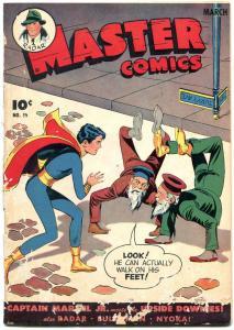 Master Comics #59 1945- Captain Marvel Jr- Bulletman- Nyoka reading copy