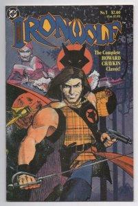 IRONWOLF #1, VF/NM, Howard Chaykin DC, 1986 more in store