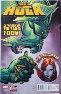 The Totally Awesome Hulk #3 (2016) INTRODUCED TO THE MCU! MINT!