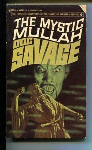 DOC SAVAGE-THE MYSTIC MULLAH-#9-ROBESON-1ST ED-G-COVER JAMES BAMA G