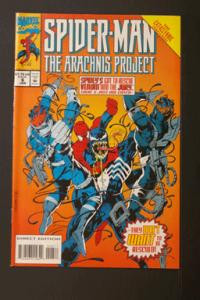 Spider-Man: The Arachnis Project #6 January 1995