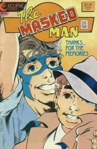 Masked Man, The #9 VF/NM; Eclipse | save on shipping - details inside