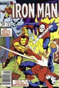 Iron Man (1968 series) #188, VF- (Stock photo)