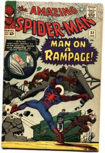 AMAZING SPIDER-MAN #32-MARVEL COMICS SILVER-AGE-VG