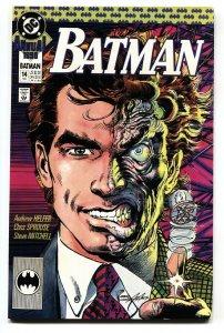 Batman Annual #14 comic book 1990-DC Two-Face cover