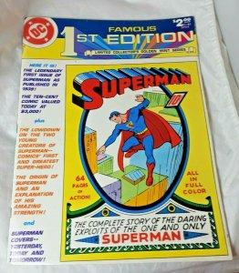 Superman Famous 1st Editions Oversized DC Comic Book golden mint series C-61 FN+