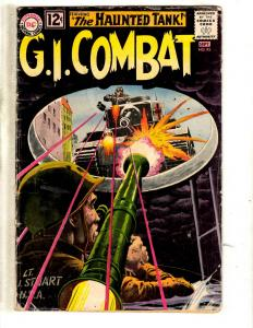 G.I. Combat # 95 VG DC Silver Age Comic Book Haunted Tank Army War Navy JL2