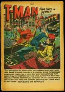 T-Man Comics #5 1952- Commies- Spies- Reading Copy