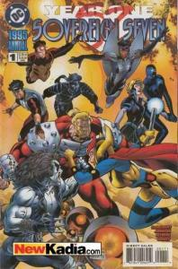 Sovereign Seven Annual #1, NM (Stock photo)
