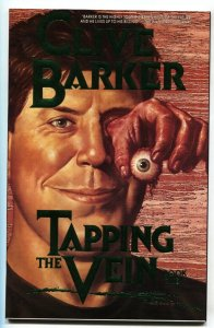 Tapping the Vein # 1989 Green logo variant-Eclipse Clive Barker comic book NM-