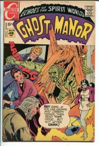 GHOST MANOR #16 1971-CHARLTON-STEVE DITKO ART-fn