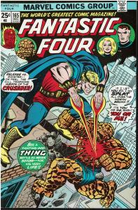 Fantastic Four #165, 6.0 or Better *KEY* Origin of Marvel Boy & The Crusader