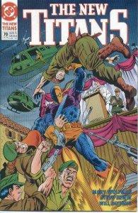 New Titans #70, NM- (Stock photo)