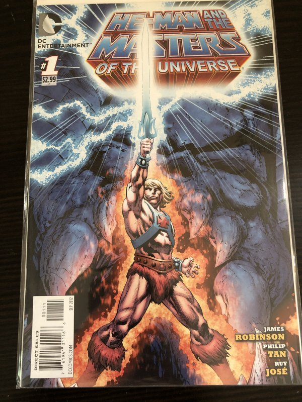 He-Man and the Masters of the Universe #1 VF/NM