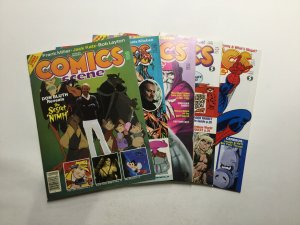 Comics Scene 3 5-8 Magazine Lot Very Fine Vf 8.0 Starlog Presents