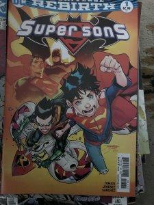 DC Rebirth SuperSons #1 Mint