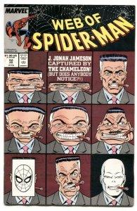 Web Of Spider-man #52 1989- Chameleon- NM-