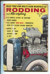 Rodding and Re-styling 9/1961-Universal--custom cars-hot rods-Flathead Ford c...