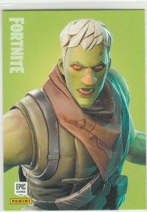 Fortnite Brainiac 119 Uncommon Outfit Panini 2019 trading card series 1