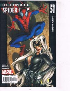 Lot Of 5 Ultimate Spider-Man Marvel Comic Books # 51 52 53 54 55 TW32