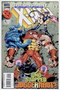 X-MEN #322. NM+, Juggernaut, Onslaught, Scott Lobdell, more in store