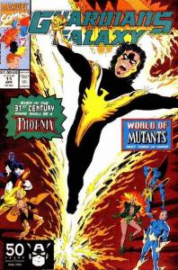 Guardians of the Galaxy (1990 series) #11, NM- (Stock photo)